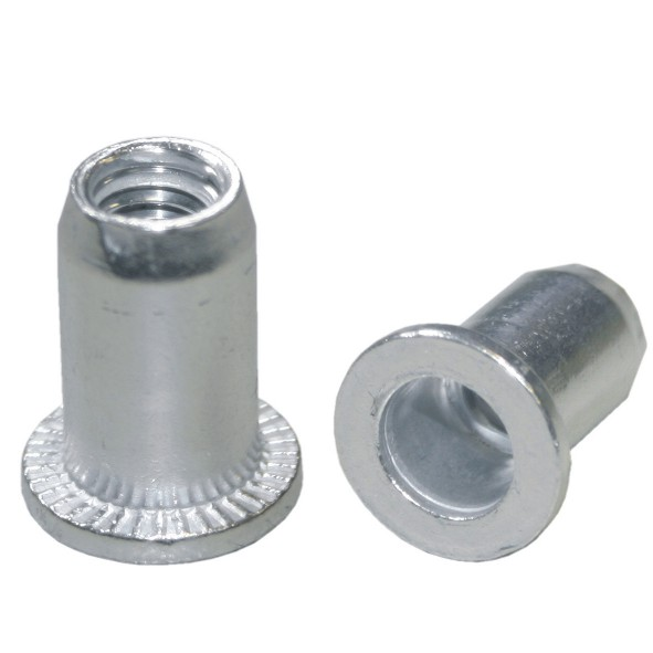 100 St. Aluminium Einnietmuttern M8