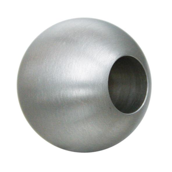 V2A Edelstahl Zierkugeln Ø20mm mit 14er Durchgangbohrung 14mm
