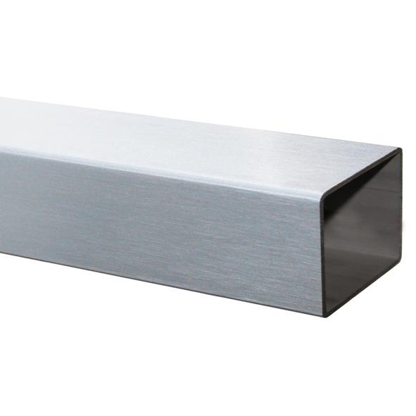 100 cm edelstahl v2a rohr 50x30x2 0 mm geschliffen. Black Bedroom Furniture Sets. Home Design Ideas