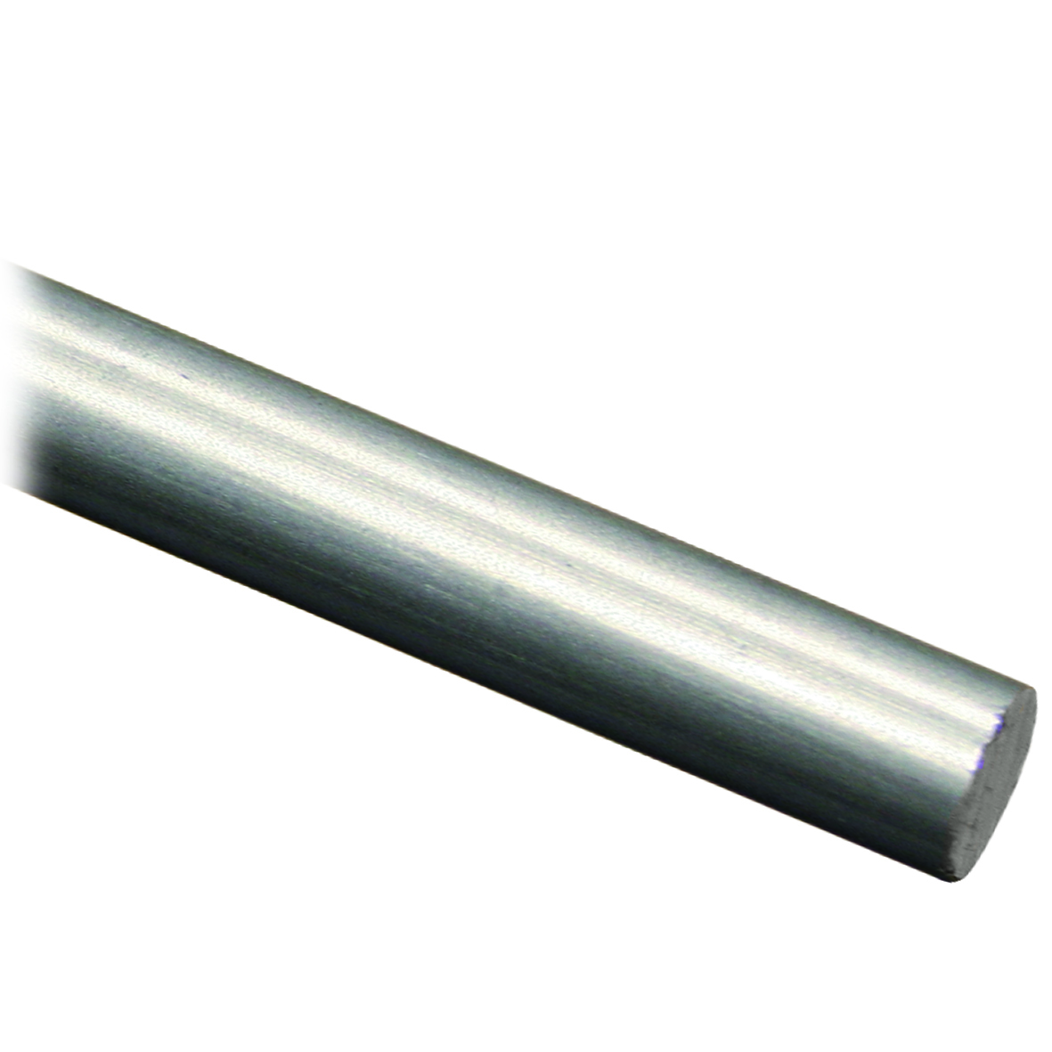 145 cm Edelstahl V2A Stab/Rundstahl Ø 6 mm, ungeschliffen