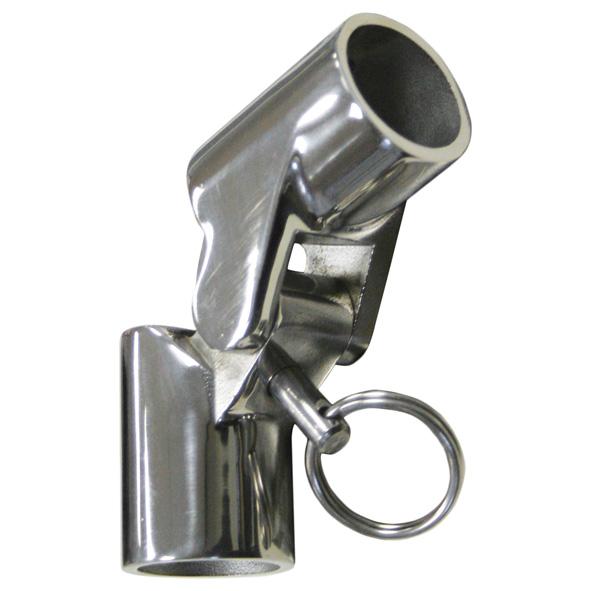 bimini gelenk mit sicherung f r rohr 25 mm v4a poliert reinartz kleinteileversand