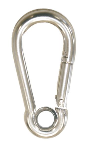 Karabinerhaken Sicherheitskarabiner aus  Edelstahl
